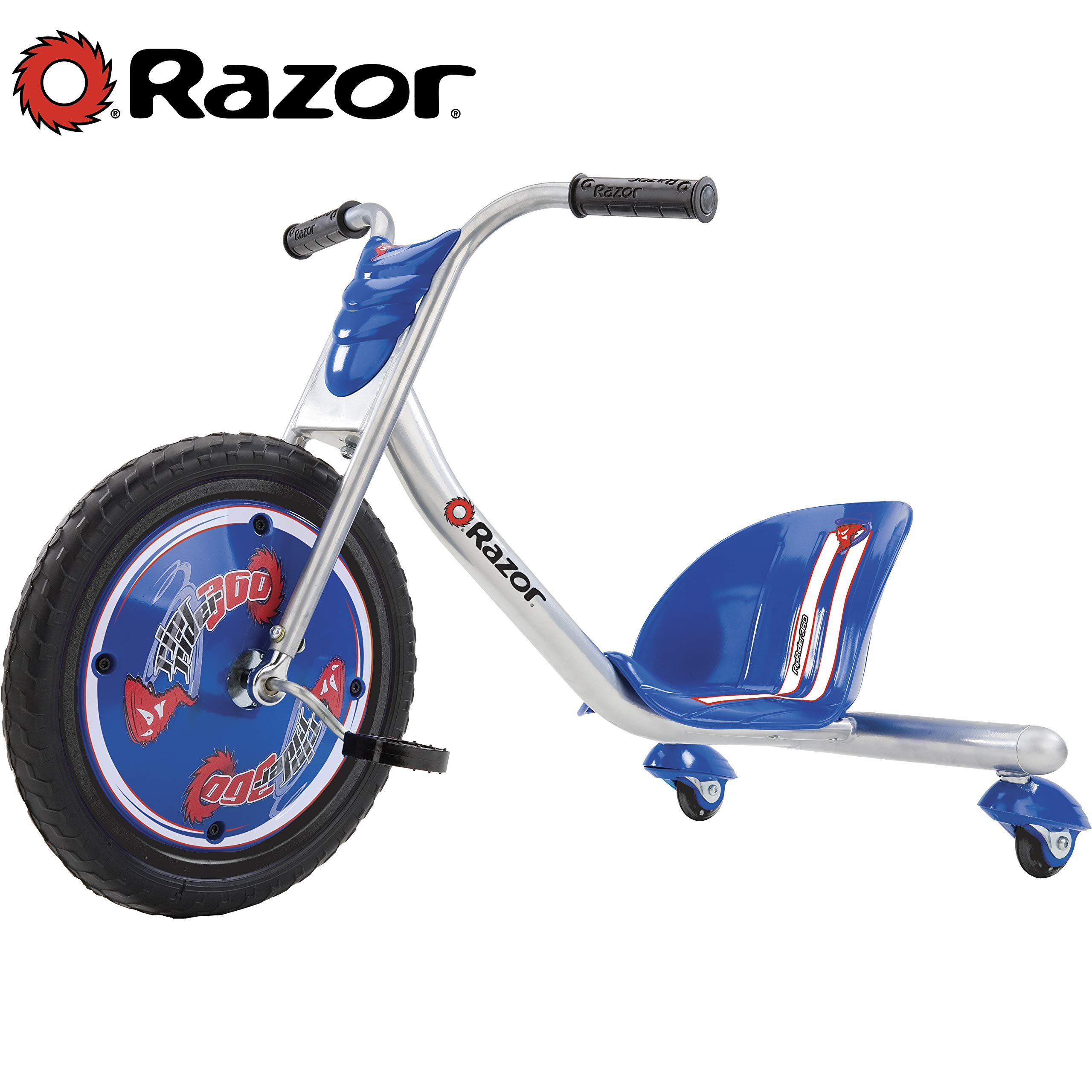 Razor RipRider 360 Caster Trike, Blue - 20036542 by Razor