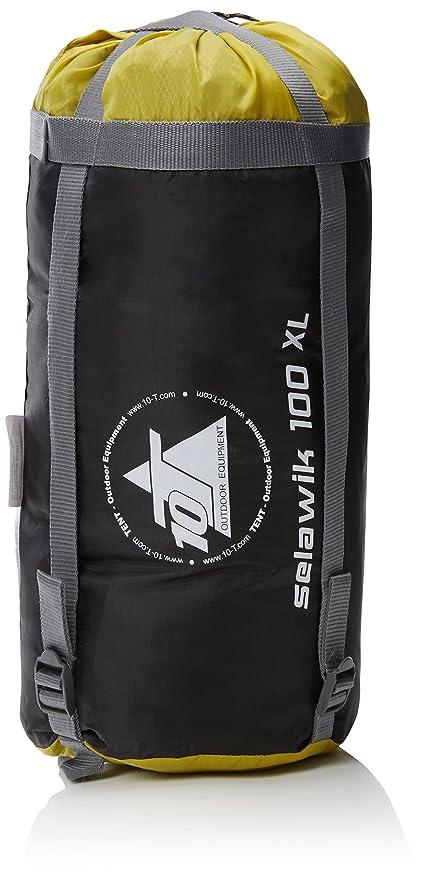 10T Outdoor Equipment 10T Selawik 100XL Saco de Dormir de Manta, Negro, Estándar: Amazon.es: Deportes y aire libre