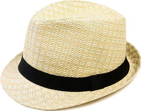 Livingston Men Womens Manhattan Short Brim Gangster Fedora Hat