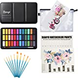 Bianyo Watercolor Set -36 Vibrant Colors - Watercolor Paper- Brush-Palette for Kids Adults Painting, Coloring, Gift…