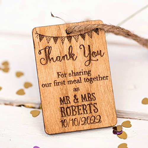 Dinner Table Decoration Wedding Favours Table Confetti Personalised