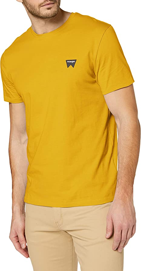 Wrangler Sign off Crew T-Shirt Uomo