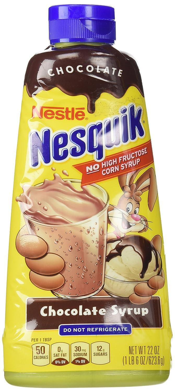 Amazon.com : Nestle Nesquik Chocolate Syrup 22 oz : Grocery ...