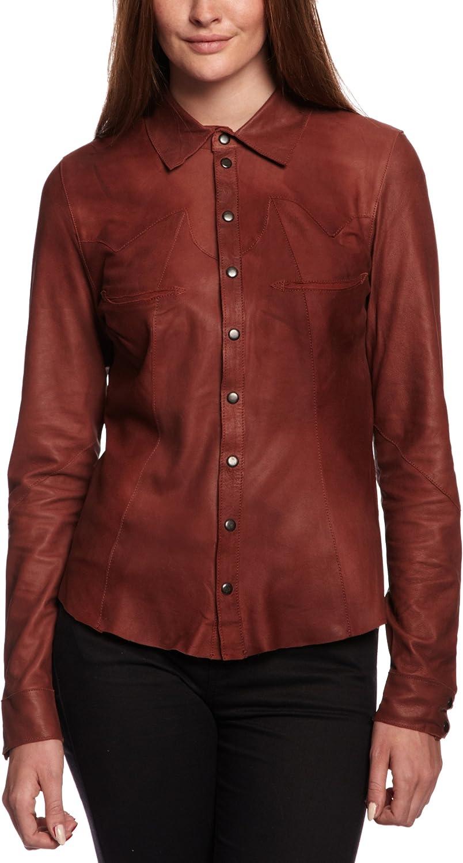 Vero Moda - Camisa para Mujer, Talla 36, Color Frambuesa (Raspberry): Amazon.es: Ropa y accesorios