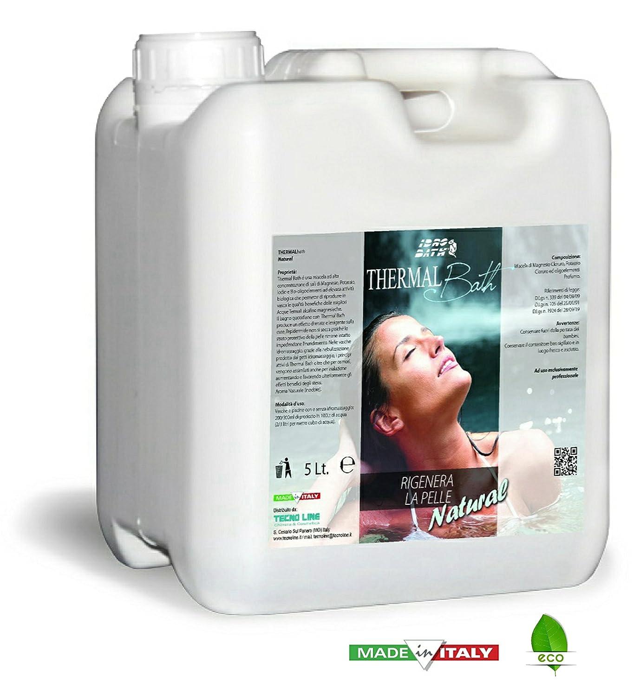 Metacril 5 Lt. Agua termale para Spa, Jacuzzi y Piscina. Thermal Bath Natural (inodora). Envío immediata: Amazon.es: Jardín