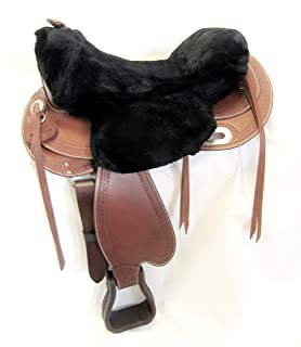 Western Sattel Cuba in pelle di bufalo di alta qualit/à Nuovo Roping Sattel