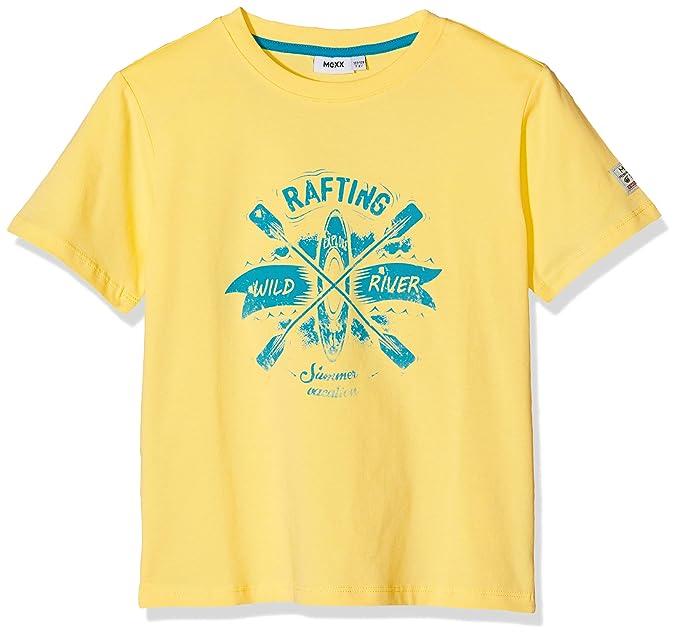 Mexx Camiseta para Niños, Amarillo (Pale Banana 120824) 104 (Talla del Fabricante
