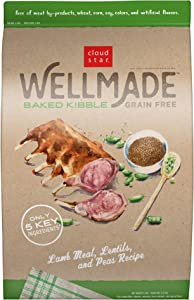 Cloud Star WellMade Grain Free Baked Kibble Dog Food, Quality Protein & Gluten Free