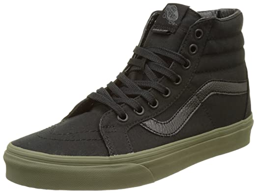 Sk8 Hi Women US 7 Black Skate Shoe