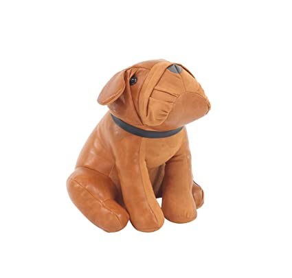 Amazon.com: Zeckos Adorable Sitting Bulldog Faux Leather Bean Bag Door Stop:  Home U0026 Kitchen