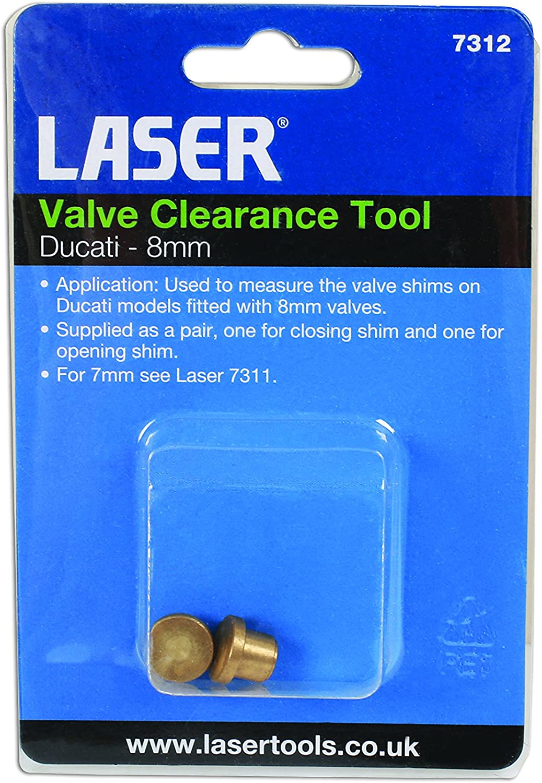Laser Ventil Clearance Tool-Ducati 8/mm-7312