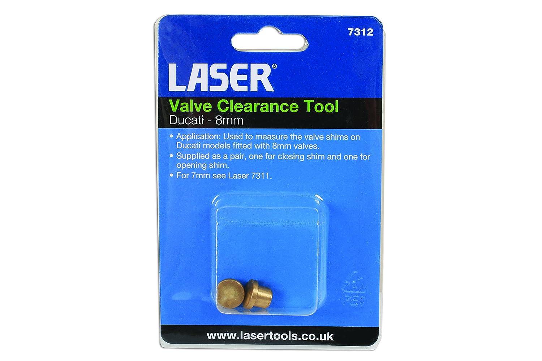 Laser Herramienta de Limpieza de v/álvula Ducati 8 mm-7312