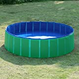 Fuloon Foldable Pet Swimming Pool Bathing Tub Bathtub Dog Cats Washer