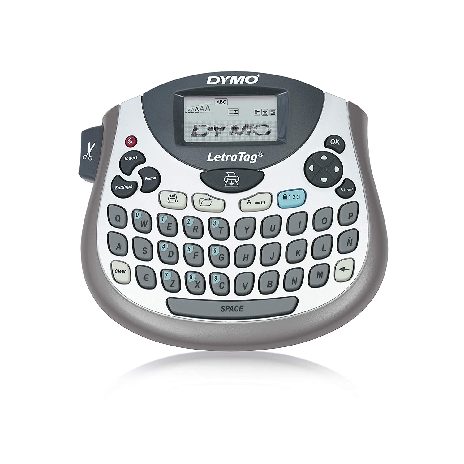 Dymo Letratag LT-100T Qwerty Label Maker Plus Tape (Nordic Text on Packaging) Newell Rubbermaid S0758390