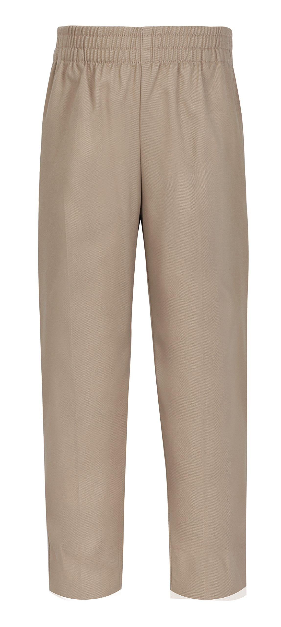 Classroom Little Boys' Toddler Uniform Pull-On Pant, Khaki, 4T