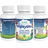 MightyVites - Gummy Multi - Vitamin for Kids - Vegetarian Vitamins and nutrients. for Metabolism and Energy Production. Builds Stronger Bones, Teeth, Skin and Hair. Allergen Free. Made in The USA.