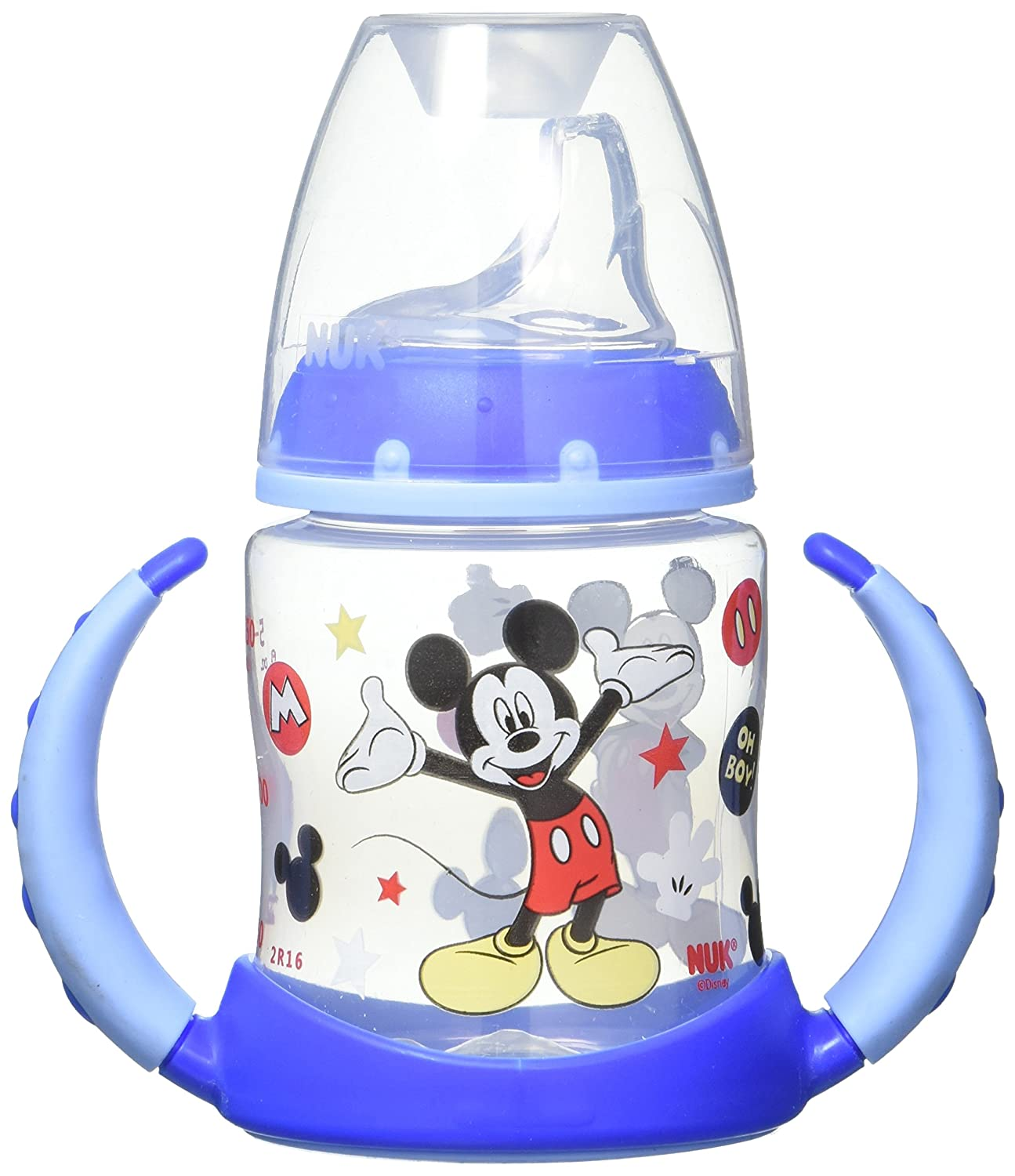 NUK Disney Learner Cup with Silicone Spout, Mickey Mouse, 5-Ounce 62047