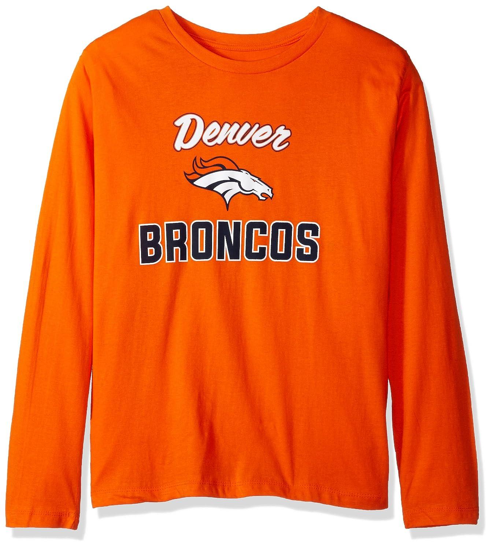 NFL Womens Broncos L S Scoop Neck Tee