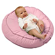 Leachco Podster Sling-Style Infant Lounger, Pink Pin Dot