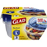 Glad Food Storage Containers, Big Bowl, 48 Ounce, 3 Count