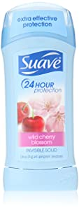 Suave Antiperspirant Deodorant, Wild Cherry Blossom 2.6 Ounce (Pack of 6)