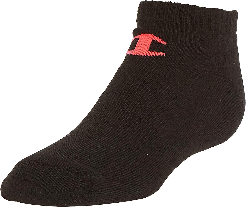 Champion unisex-child Champion 6-pack Socks in Quarter Or Low Cut Socks