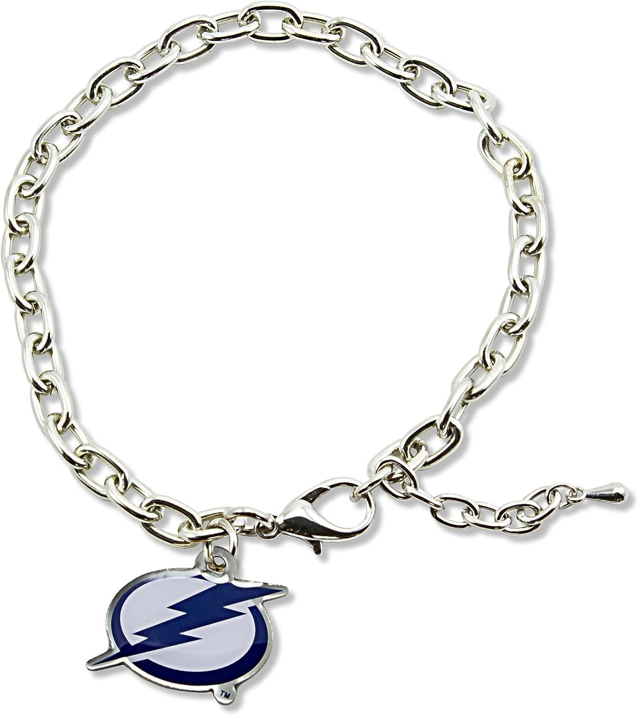 aminco NHL Anaheim Ducks Logo Bracelet