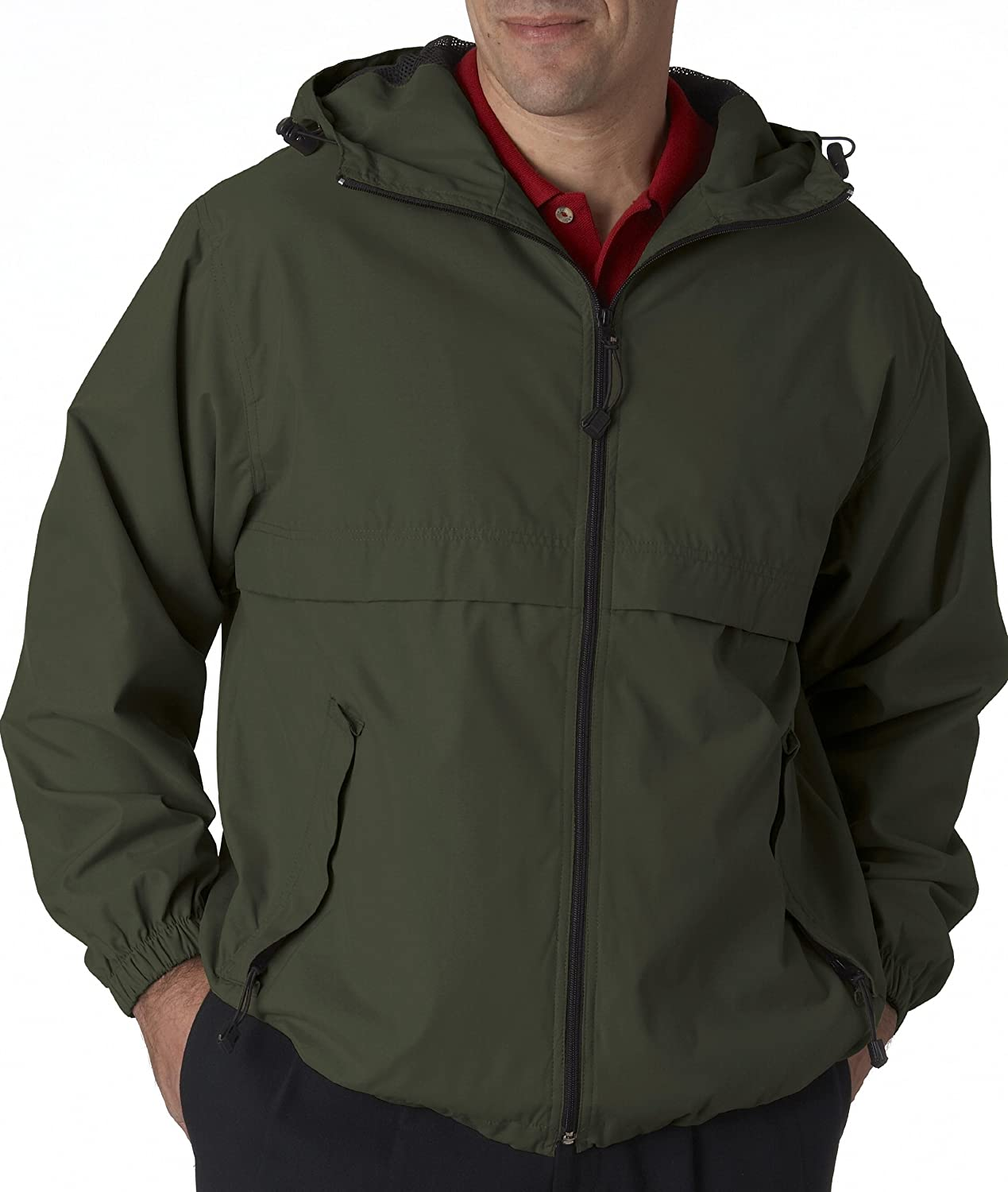 Ultraclub 8908 UC Hooded Zip Jacket 8915