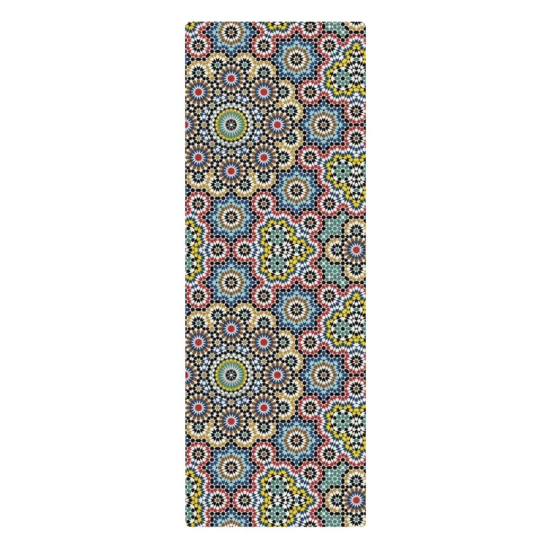 Amazon.com : SDGGHSJJGFM Yoga Mat Byzantine-Moroccan-Islamic ...