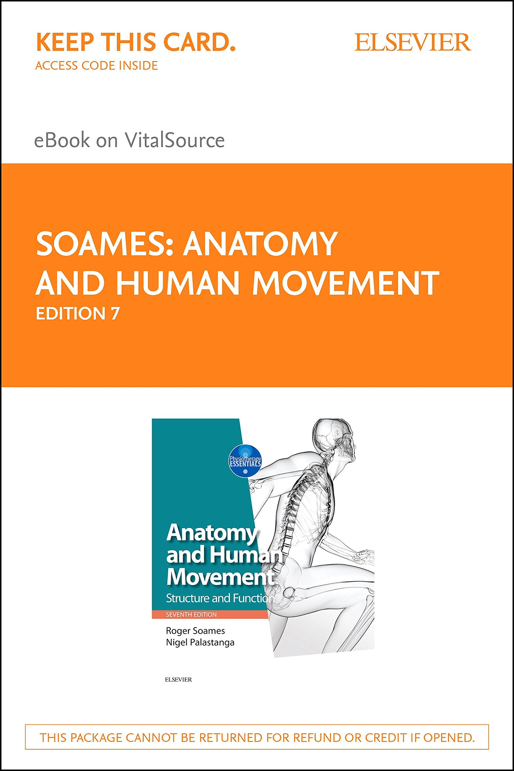 Anatomy And Human Movement Elsevier Ebook On Vitalsource Retail