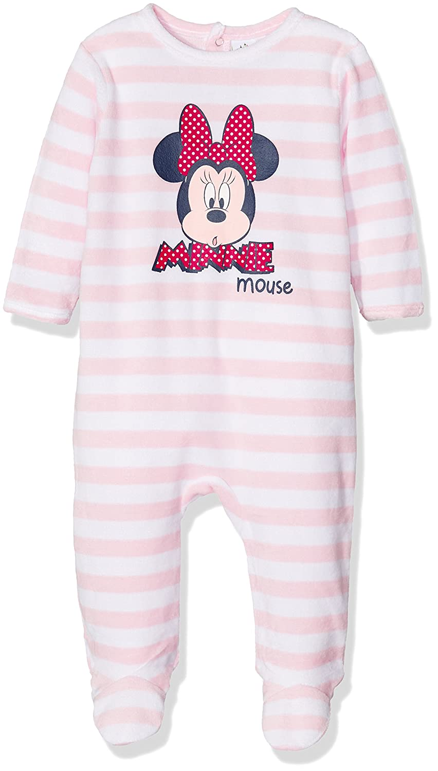 Disney Baby Girls' Pink Sleepsuit EP0311
