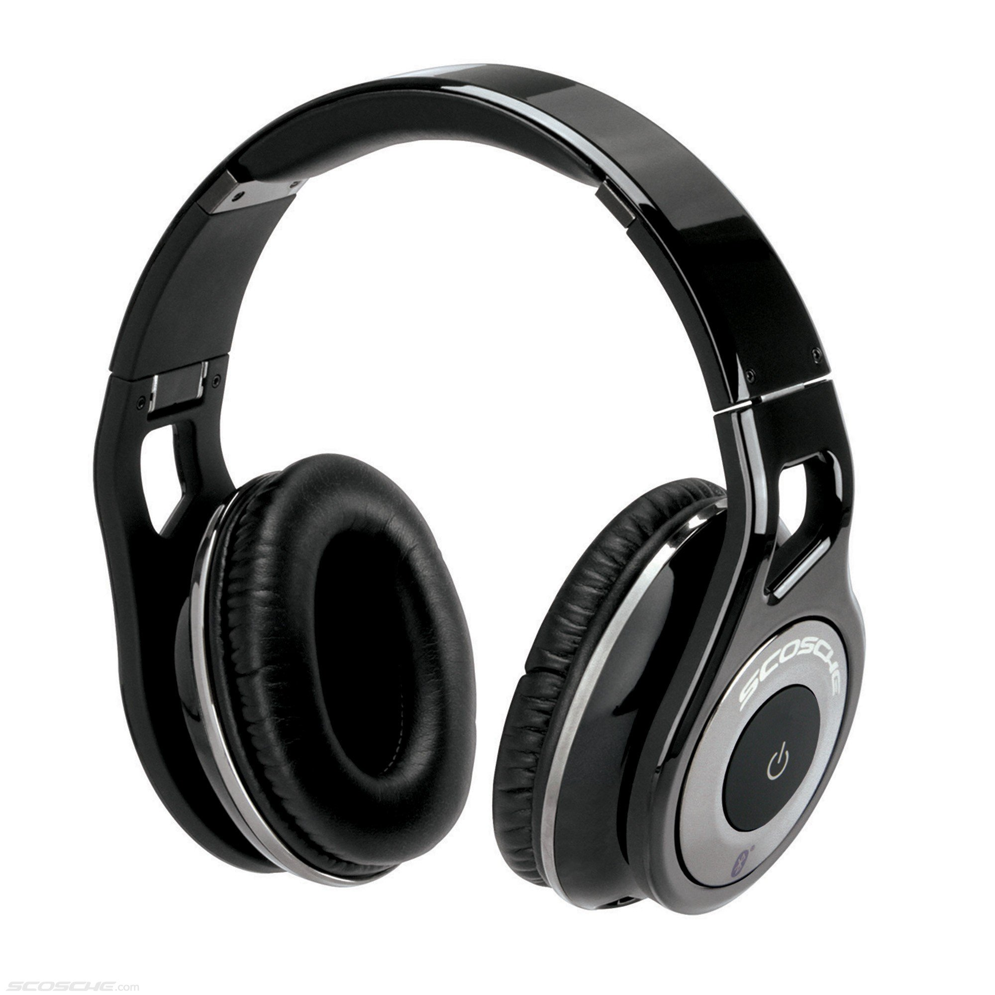 SCOSCHE REALM Bluetooth Stereo Headphones with Controls and Mic (Black)