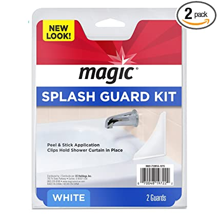 Magic Splash Guard Kit Prevent Water from Splashing out of the Bath or Shower