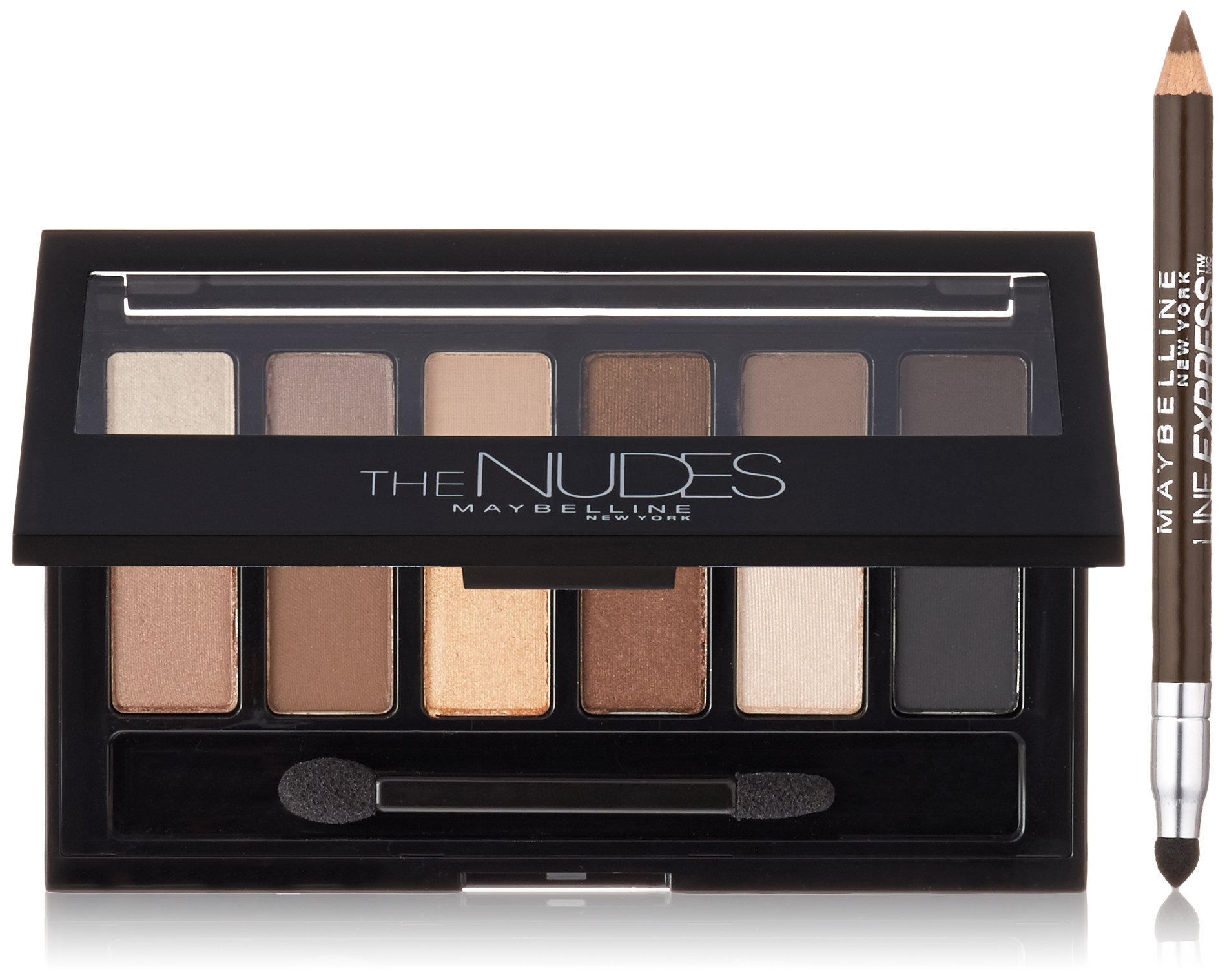 Maybelline New York Nudes Palette Shadow and Line Express Liner by Maybelline New York