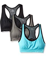 YEYELE Women Adjustable Straps and Removable Pads Tank Top Seamless Racerback Sports Bra