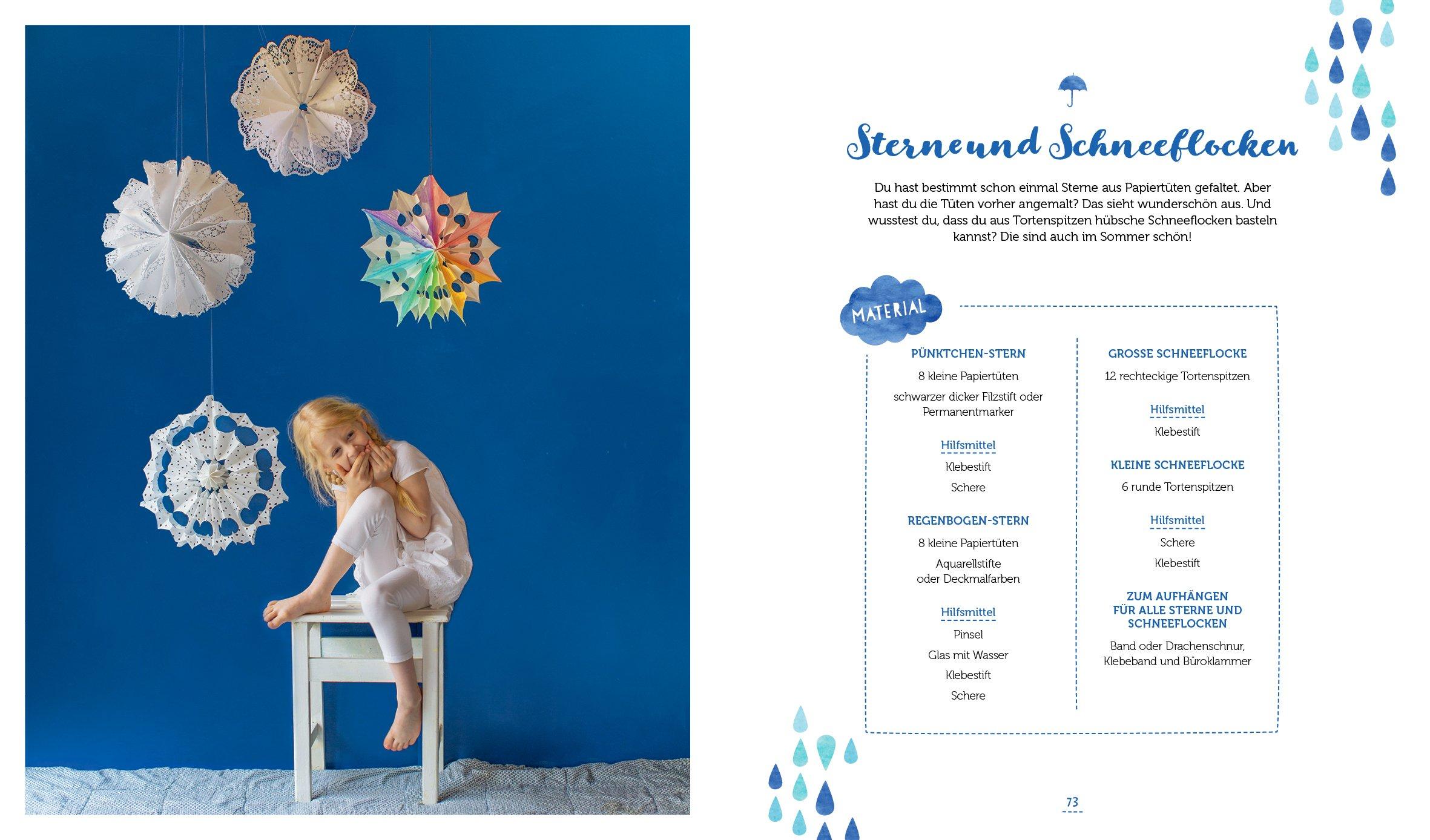 Das Regentage Kreativbuch Gute Laune Projekte Zum Basteln Malen