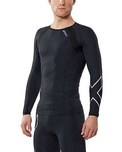 0681c89d4 2XU Men's Long Sleeve Compression Top