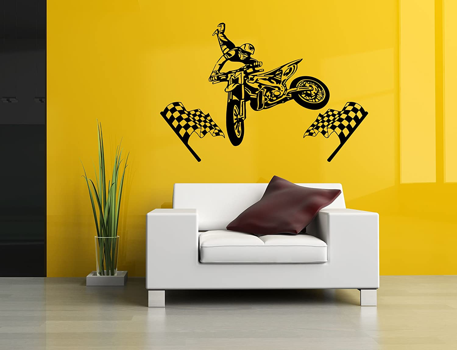 Amazon.com: Removable Vinyl Sticker Mural Decal Wall Decor Poster ...