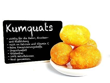 fortunella – kandiert – Kumquat – disecada – Reich Calcio y Vitamina C – Premium