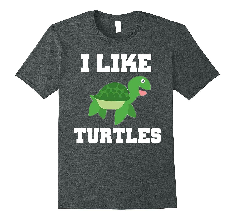 I LIKE TURTLES: Fun turtle lovers shirt for kids & teenagers-Art