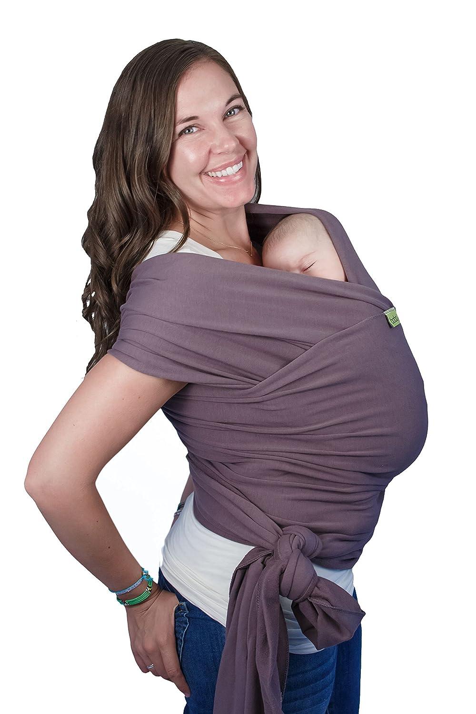 Boba Baby Wrap, Organic, Dark Grey BW1-021-DARK