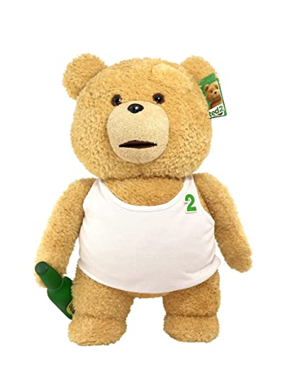 Amazoncom Ted 2 Movie Size Plush Talking Teddy Bear Explicit Doll