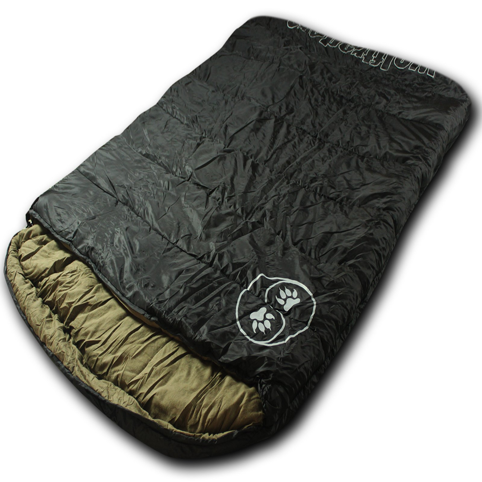 Wolftraders TwoWolves +20 Degree Premium Ripstop Two Person Sleeping Bag