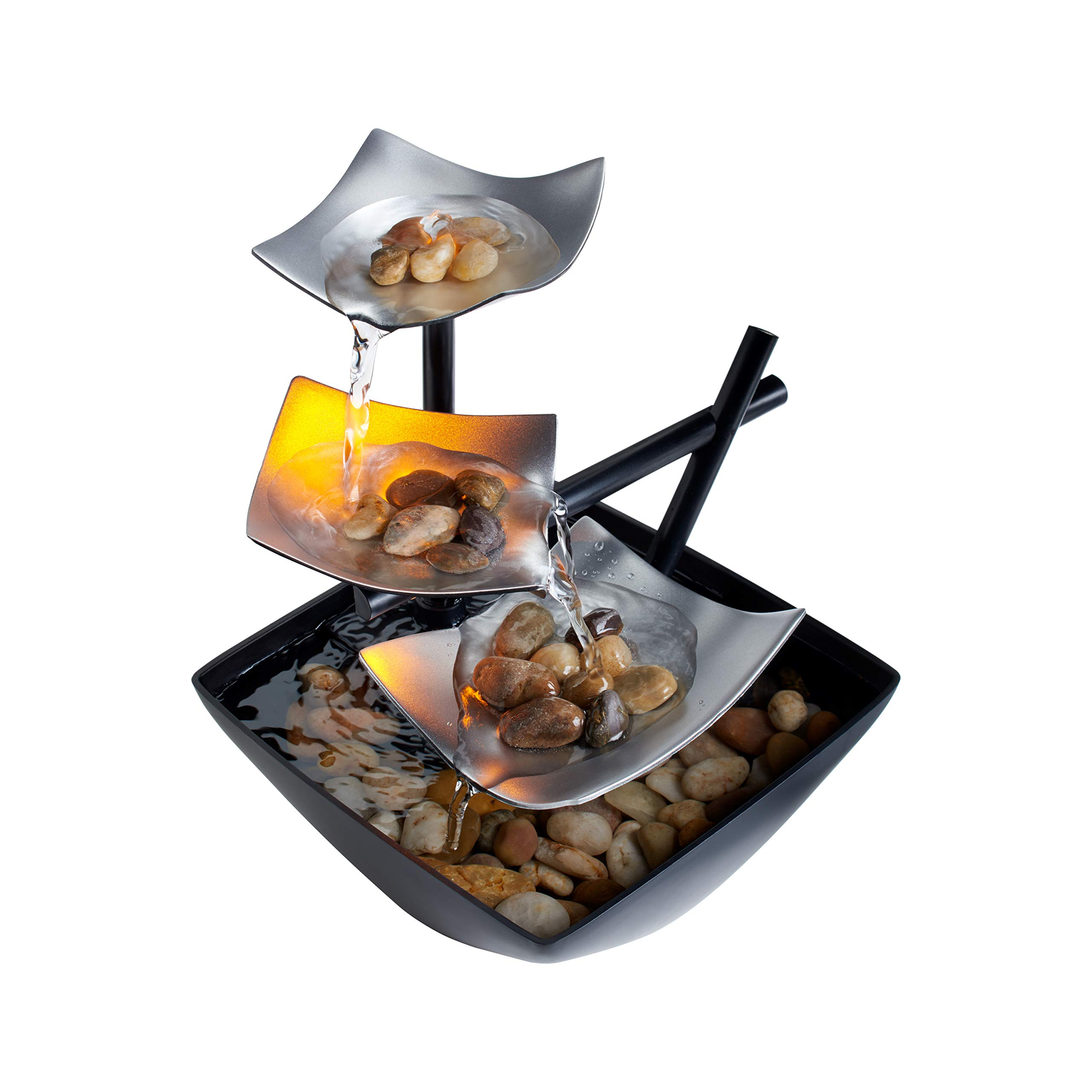 HoMedics Relaxation Indoor Tabletop Fountain (Silver Springs)