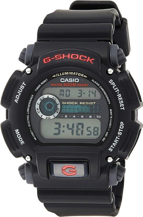 best watch for hunting: Casio Men's 'G-Shock' Quartz Resin Sport Watch
