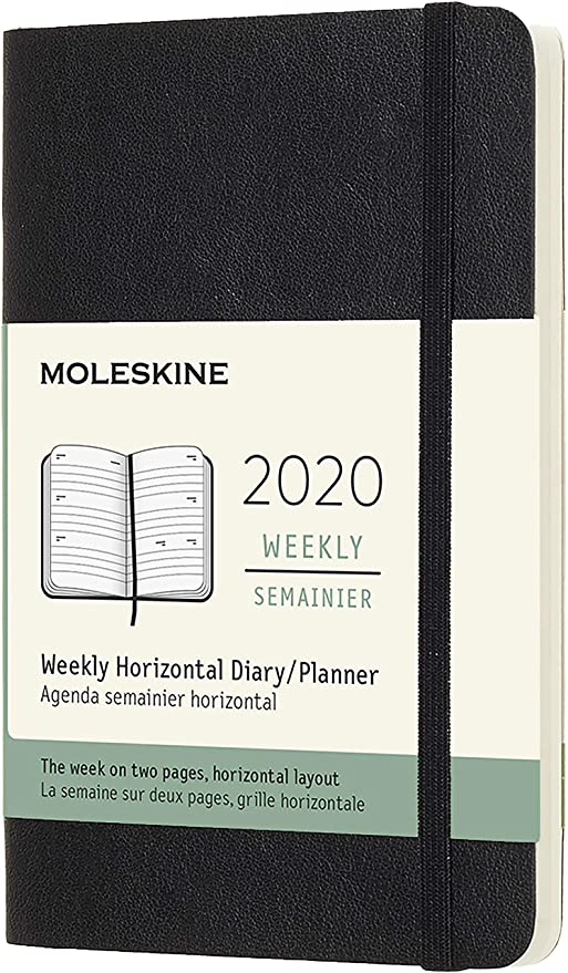 Amazon.com: Moleskine Planificador semanal de 12 meses ...