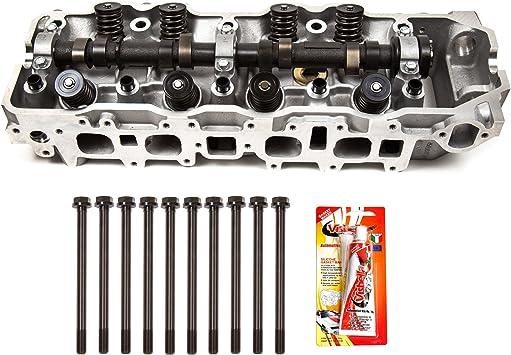 Complete Cylinder Head Head Gasket Set /& Bolts Fits 85-95 Toyota 2.4L SOHC 22R