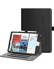 FINTIE Case for iPad mini 5th Gen 2019 / iPad mini 4 - [Corner Protection] Multi-Angle Viewing Smart Folio Cover w/Pocket, Pencil Holder, Auto Wake/Sleep for New iPad mini 5 / iPad mini 4, Black