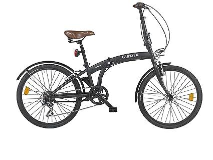Cicli Gloria Forlanini Pieghevole 24 Nero Matte Amazonit Sport
