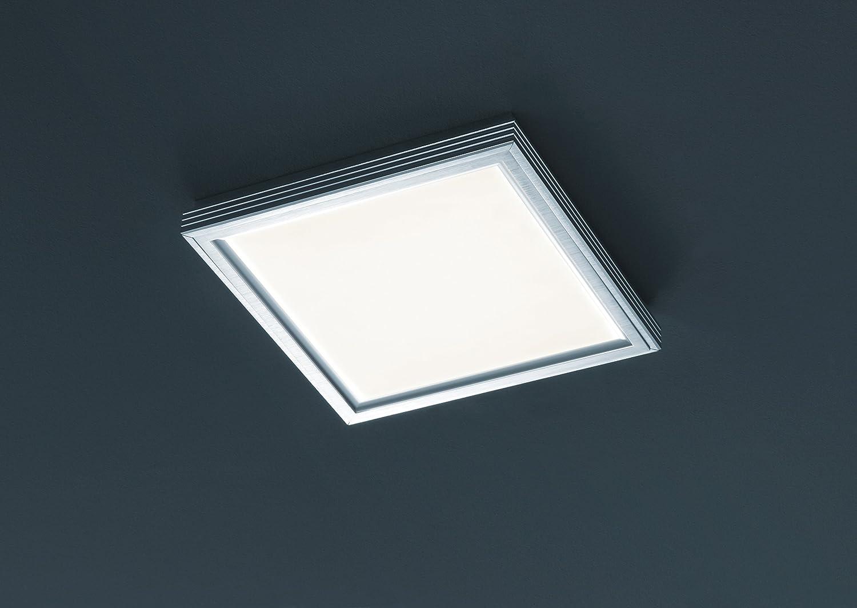 Trio Leuchten LED-Deckenleuchte Aluminium gebürstet, acryl weiß weiß weiß 659513605 7ca44e
